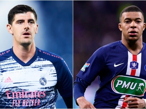 Real Madrid plan to offer Thibaut Courtois to land PSG star Kylian Mbappe
