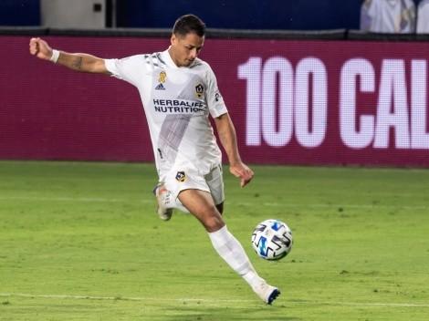 El increíble gol que se perdió Chicharito con LA Galaxy
