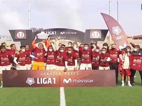 Y levanta la Copa: Universitario de Deportes ganó y celebró su campeonato