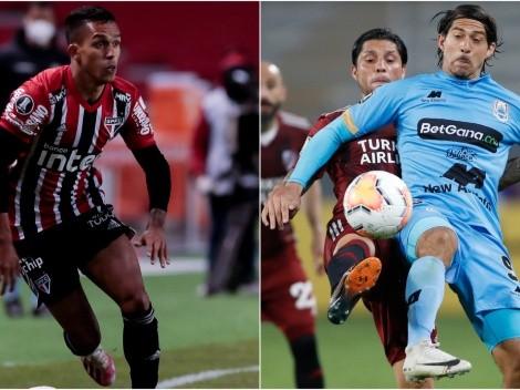 Sao Paulo host Binacional in their last 2020 Copa Libertadores game today