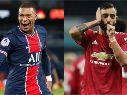 PSG vs. Manchester United juegan por la Champions League este martes (Getty Images)