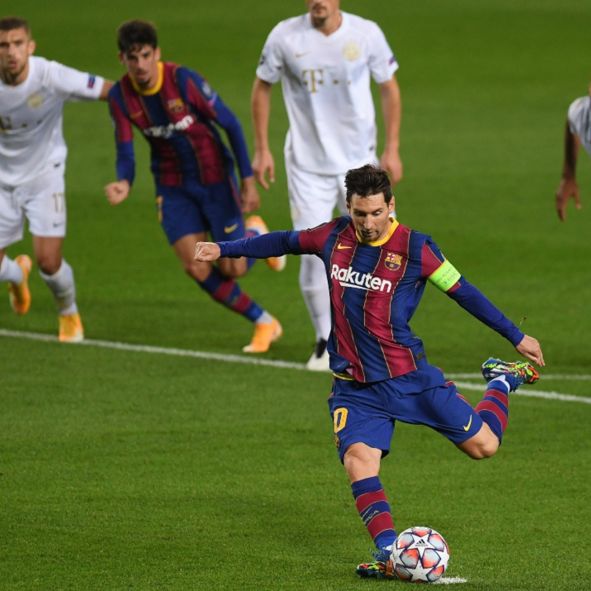 Barcelona Vs Ferencvaros Highlights And Goals Watch Here Barcelona S 5 1 Win In Uefa Champions League 2020 2021 Video Bolavip Us