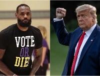 La palabra más esperada: LeBron dijo cómo derrotar a Donald Trump