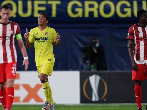 Un día volvió a marcar Bacca: empezó el show de Carlitos en la Europa League