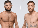 Khabib Nurmagomedov vs. Justin Gaethje (Fotos: Getty Images)