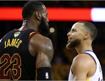 LeBron James y Stephen Curry, NBA