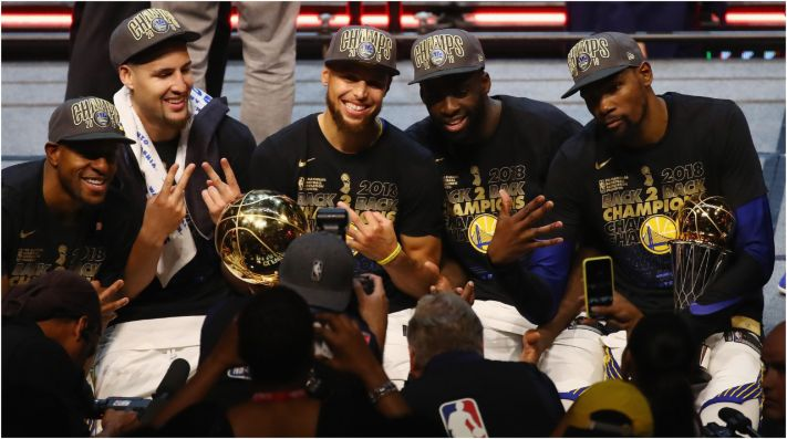 Golden State Warriors campeón NBA