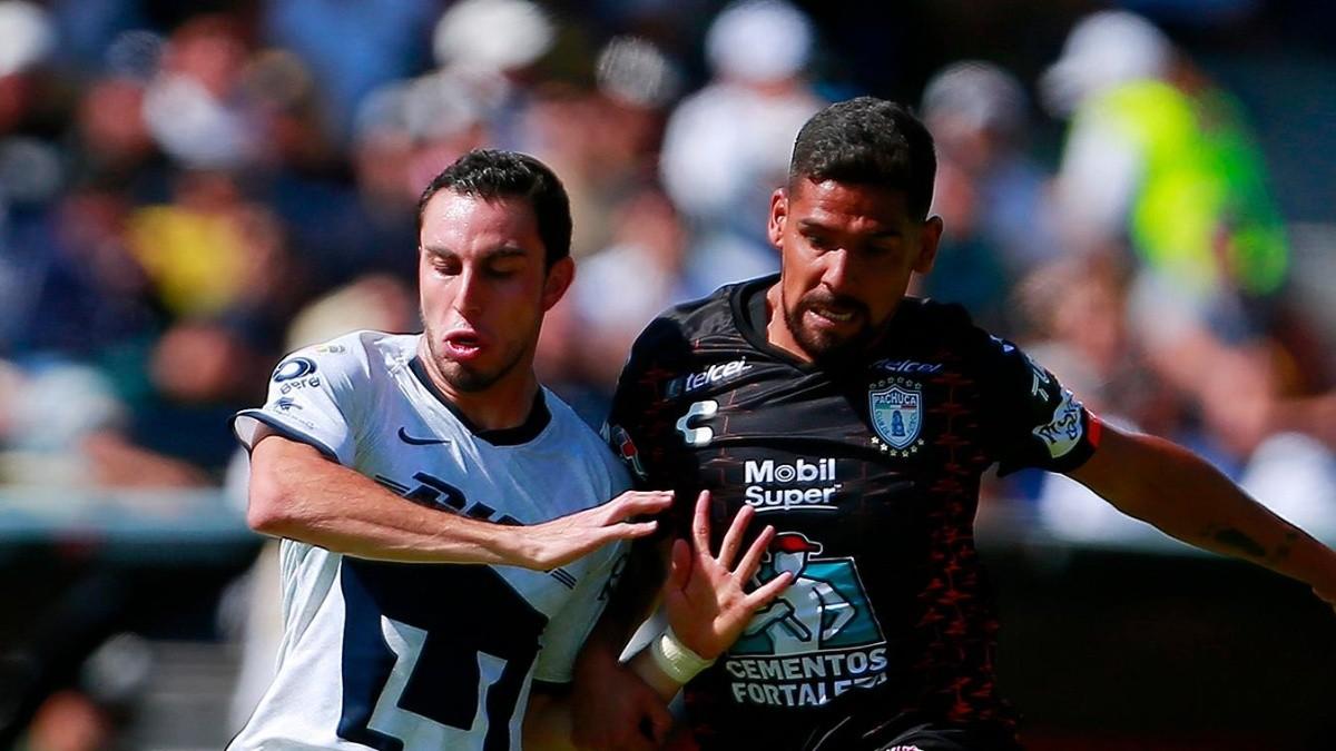 Organo Encantador riesgo  EN VIVO Pachuca vs. Pumas por la jornada 15 de la Liga MX desde el Estadio  Hidalgo   Bolavip