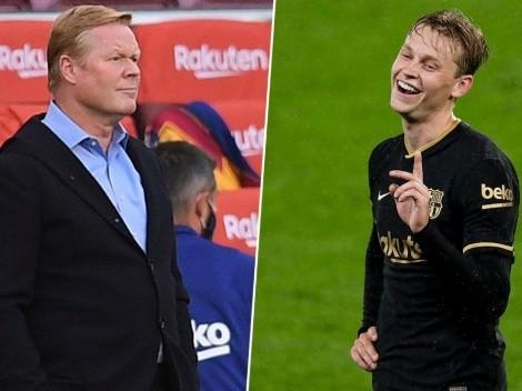 De Jong revela la advertencia que Koeman le dio antes de llegar al Barcelona