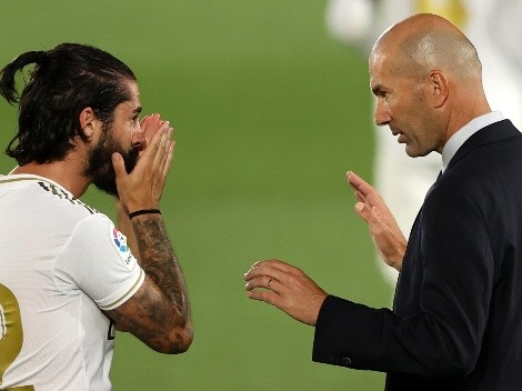 A Zidane le preguntaron por las críticas de Isco y no se quedó callado