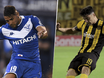 Vélez vs. Peñarol por la Copa Sudamericana (Fotos: Getty Images)