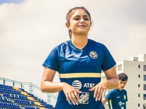 Jana Gutiérrez regresó a los entrenamientos con América