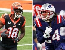 A.J. Green y Stephon Gilmore