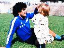 El emotivo mensaje de Dalma a Diego por su cumpleaños: