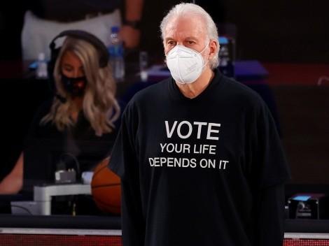 El llamado de Gregg Popovich de cara a las elecciones de Estados Unidos