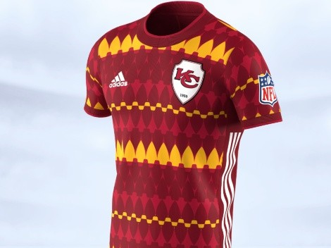 The Kansas City Chiefs go tribal with their soccer-inspired jerseys