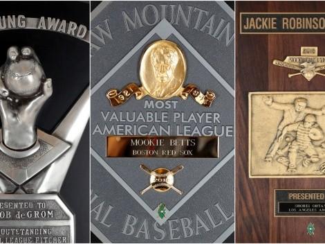 Los finalistas de premios a los Mejores de la temporada 2020 de la MLB