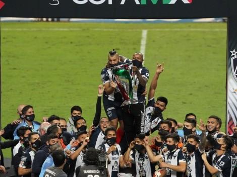 Así fue el modesto festejo de Rayados de Monterrey