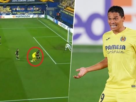 Delirio total: taco de lujo para asistir de Carlos Bacca en la Europa League