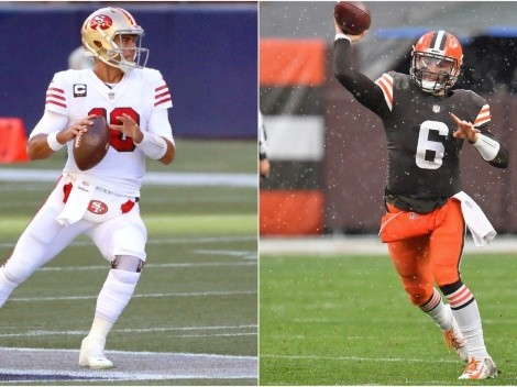 Jimmy Garoppolo and Baker Mayfield could be on the Patriots' radar for 2021