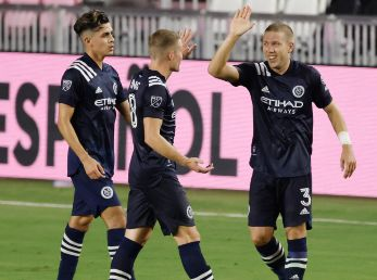New York City FC vs. Chicago Fire juegan por la fecha 24 de la MLS 2020 este domingo (Getty Images).
