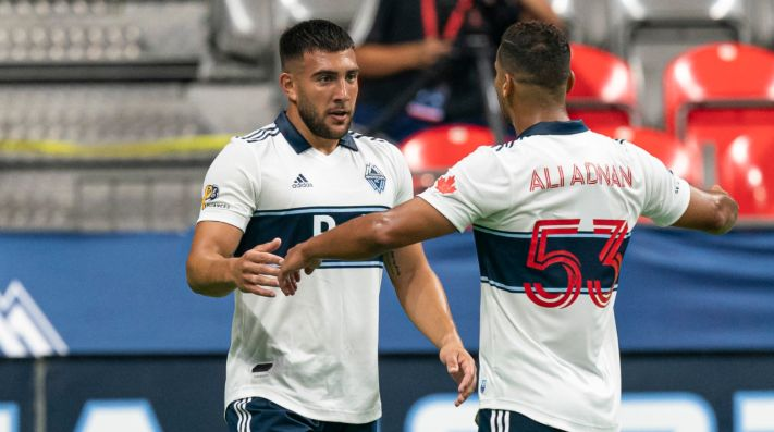 Vancouver Whitecaps vs. LA Galaxy juegan por la fecha 24 de la MLS 2020 este domingo (Getty Images)
