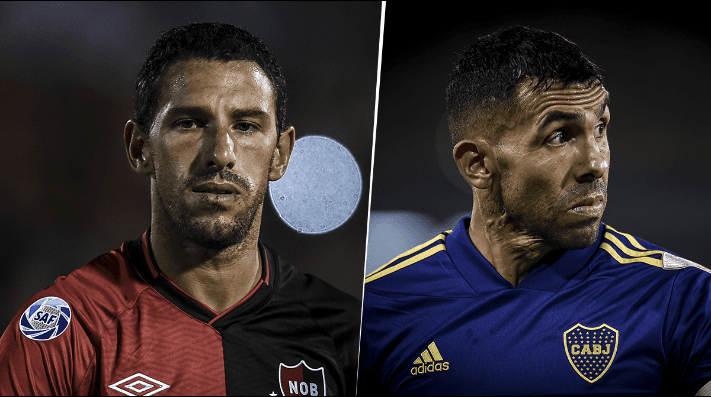 Newell's vs. Boca (Fotos: Getty Images)