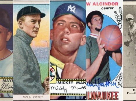 The top 20 most expensive sports trading cards!