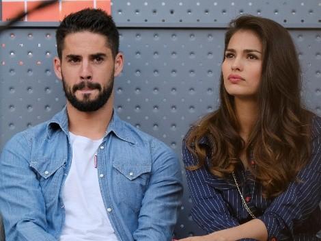 La pareja de Isco, blanco de las críticas e insultos de los hinchas del Real Madrid