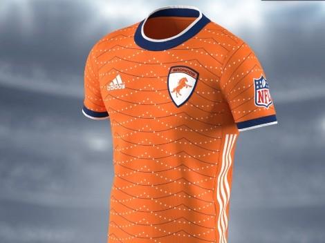 The Denver Broncos go Orange Crush in these soccer-inspired jerseys!