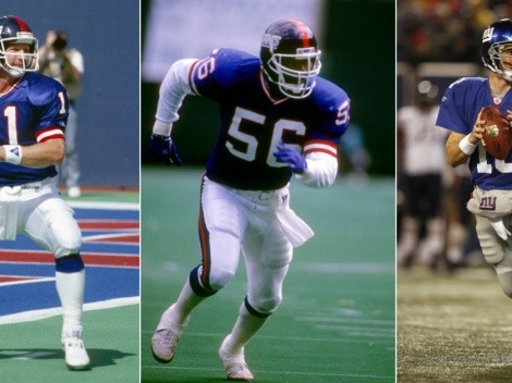 The Big Blue: Top 25 greatest players in New York Giants history