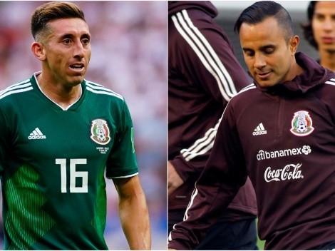 Herrera aconsejó al Chapito tras su salida de la selección