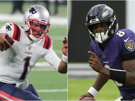 Cam Newton gives Lamar Jackson the ultimate praise ahead of Sunday's showdown