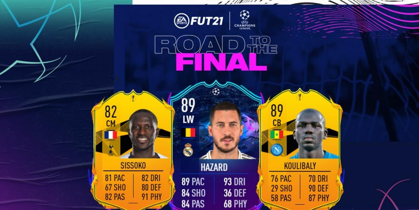 EA Sports lanza el Equipo 2 del evento RTTF en el Ultimate Team del FIFA 21