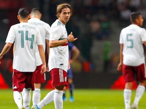 Sebastián Córdova, titular en la Selección de México