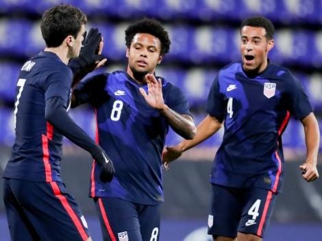 Estados Unidos regresa al triunfo goleando en amistoso a Panamá