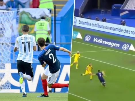 Pavard nos hizo acordar a Francia-Argentina en su último golazo