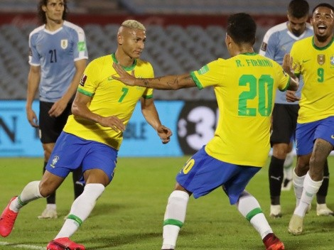 Brazil beat Uruguay 2-0 to continue their perfect pace in qualifiers