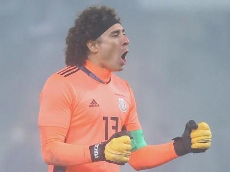 Memo Ochoa es el titular para el Tata Martino en la selección
