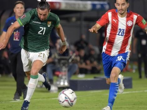Paraguay and Bolivia tie 2-2 at Asunción
