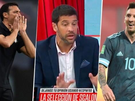 """Seba Domínguez reveló las charlas que tuvo con Messi y Scaloni: """"Necesito hablar con vos ya"""""""