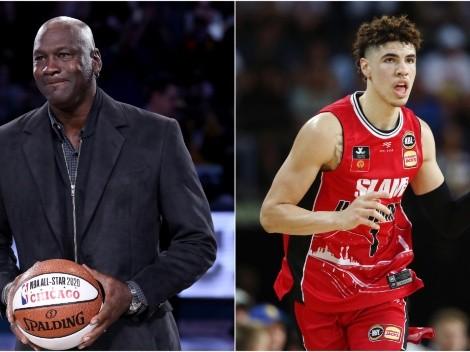 Michael Jordan's real feelings about LaMelo Ball revealed ahead of Draft