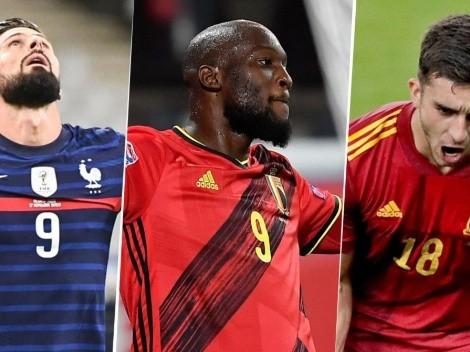 Francia, España, Italia y Bélgica: el Final Four de la Nations League