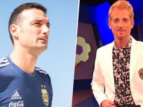 "Argentina ganó y gustó, pero Liberman le hizo un reclamo a Scaloni: ""Parece una obligación"""