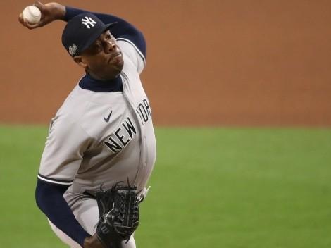 Por fin buenas noticias en New York Yankees gracias a Aroldis Chapman