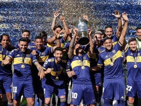 Ocho meses después Boca tuvo su consagración de la Superliga 2019/20