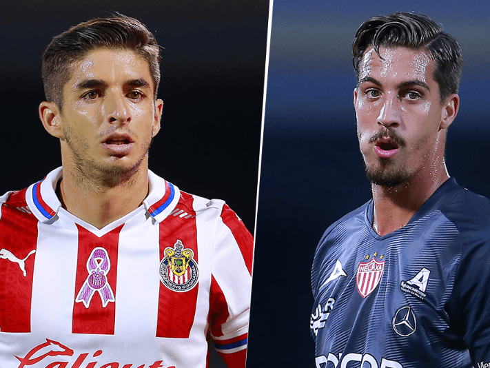 Chivas vs. Necaxa (Fotos: Getty Images)