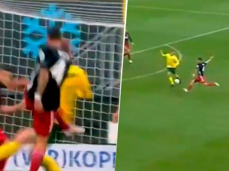 El defensor de los golazos: Senesi volvió a romper un arco en Feyenoord