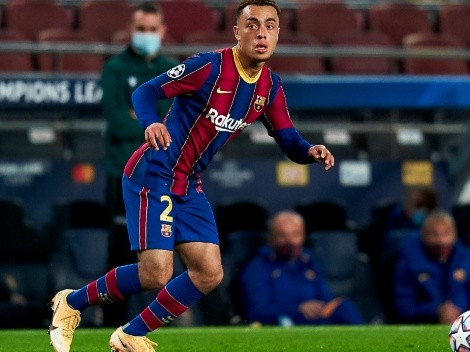 Sergiño Dest scores first goal with Barcelona in Champions League