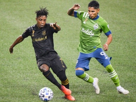 Seattle Sounders and LAFC face each other in exciting playoff match
